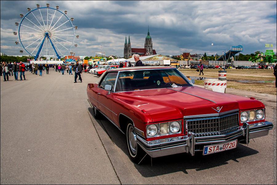 Выставка старинных авто в Мюнхене