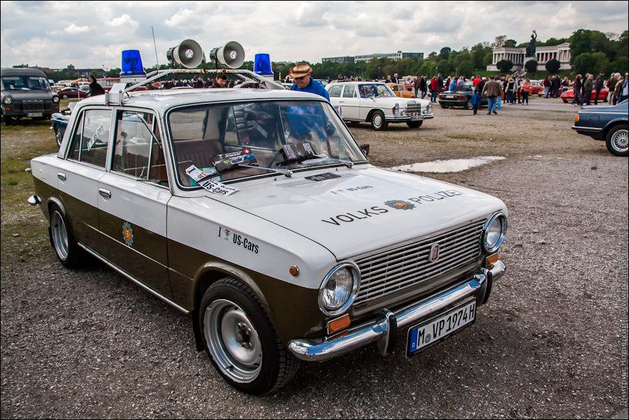 ВАЗ-2101 для народной полиции ГДР
