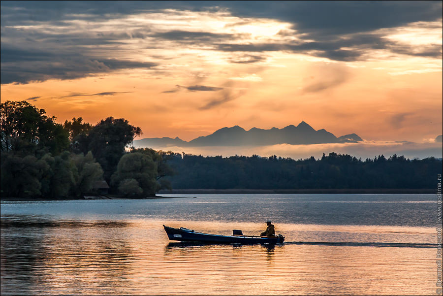 Озеро кимзее chiemsee рыбалка