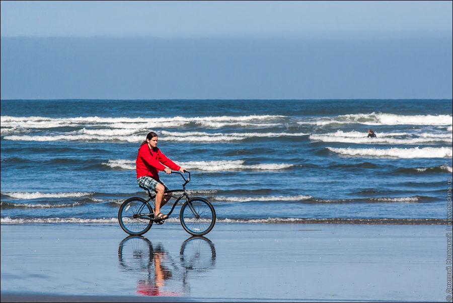 3. На велосипеде по берегу океана